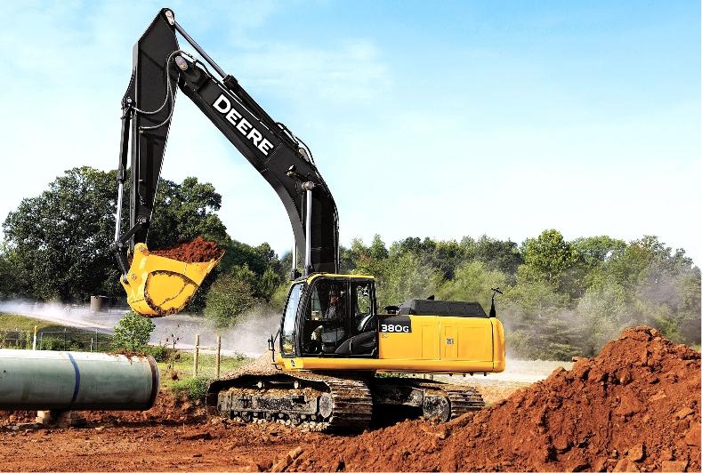 John Deere Reveals 250G LC, 350G LC, And 380G LC Final Tier 4 Excavators