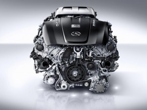 AMG 4.0-litre V8 biturbo engine