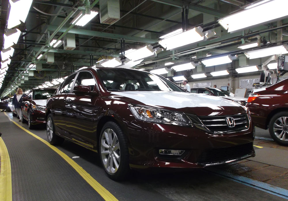 honda builds 20 millionth automobile in the u s autorevival automotive news reviews. Black Bedroom Furniture Sets. Home Design Ideas