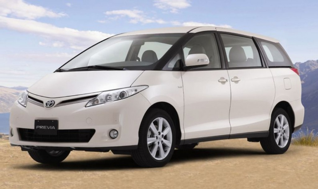 History of the Toyota Previa