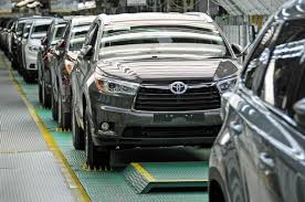 2014 Toyota Highlander Line-Off