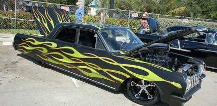 Customizing car