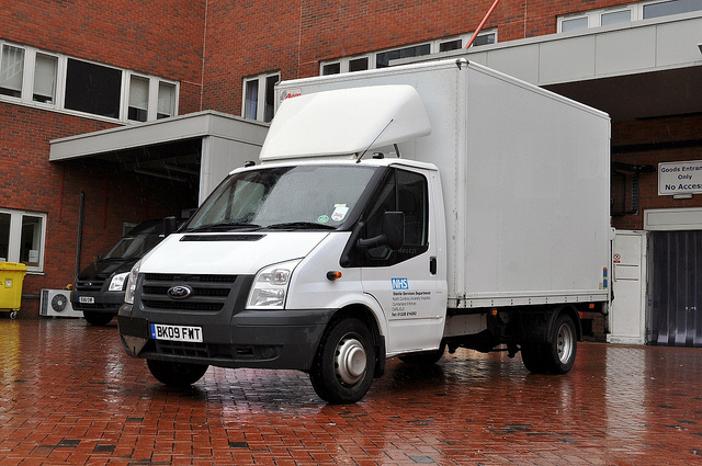 Ford Transit box van
