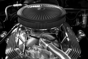 Highly polished engine