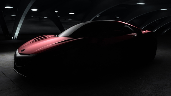 Acura NSX Production Model
