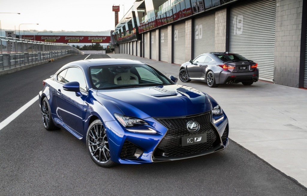 Lexus Launches All-New RC F Coupe