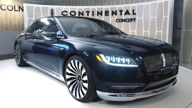 The Lincoln Continental 2015
