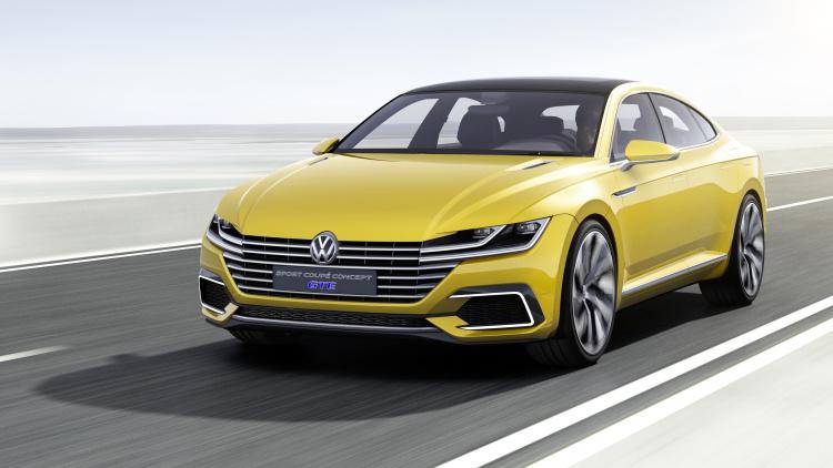 Volkswagen Sport Coupe Concept GTE Unveiled in Geneva