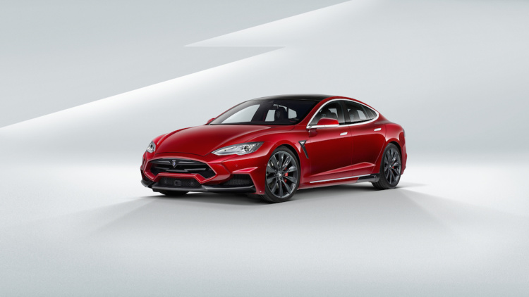 Larte Tunes Up An Aggressive Tesla Model S