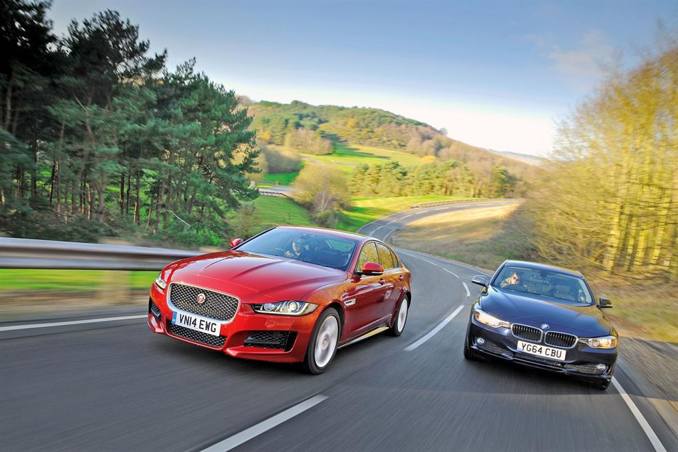 Motor Trend First To Compare Jaguar XE And BMW 3 Series