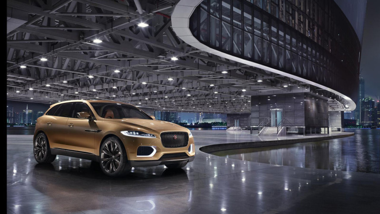 Jaguar To Follow Up With Larger J-Pace Crossover