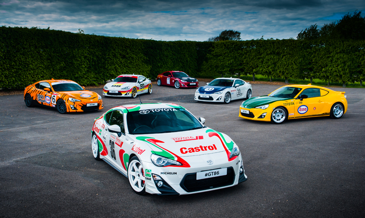 Toyota GT86 Pays Tribute To Its Heritage With Classic Liveries