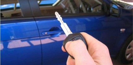 remote control for a keyless entry system
