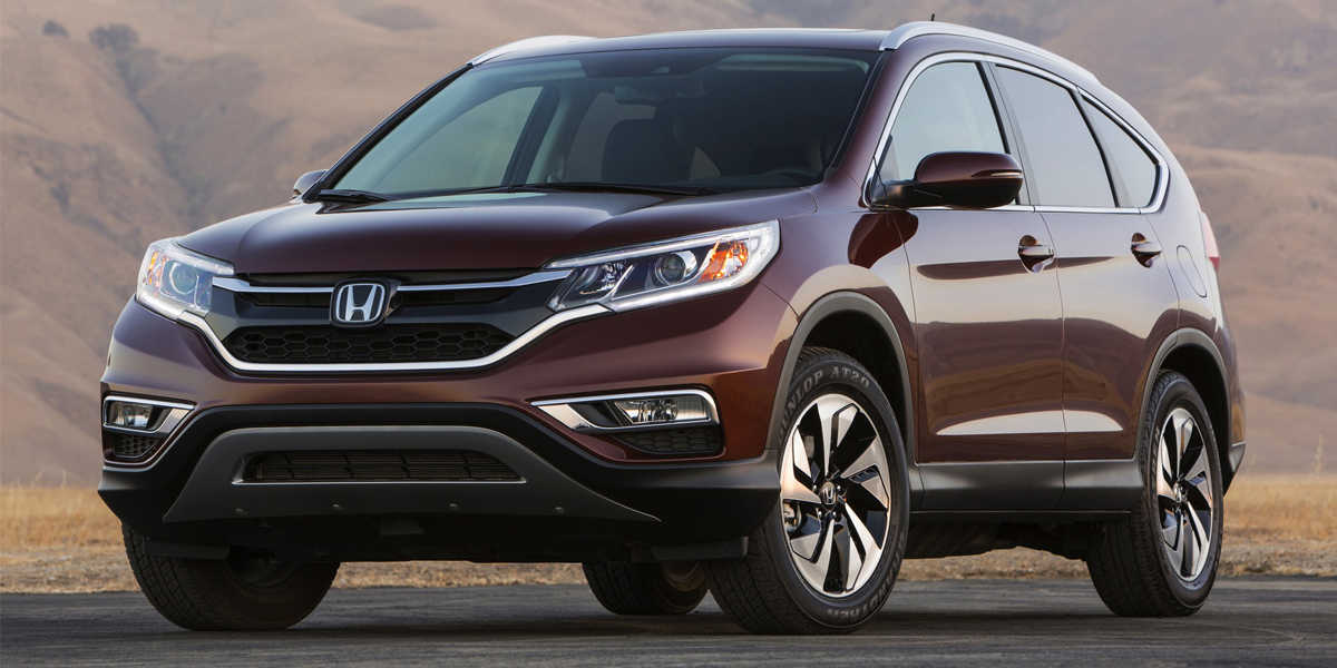 2015 CR-V SUV and Fit Subcompact Hatchback