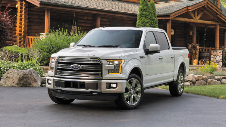 2016 Ford F-150 Gets New Limited Model