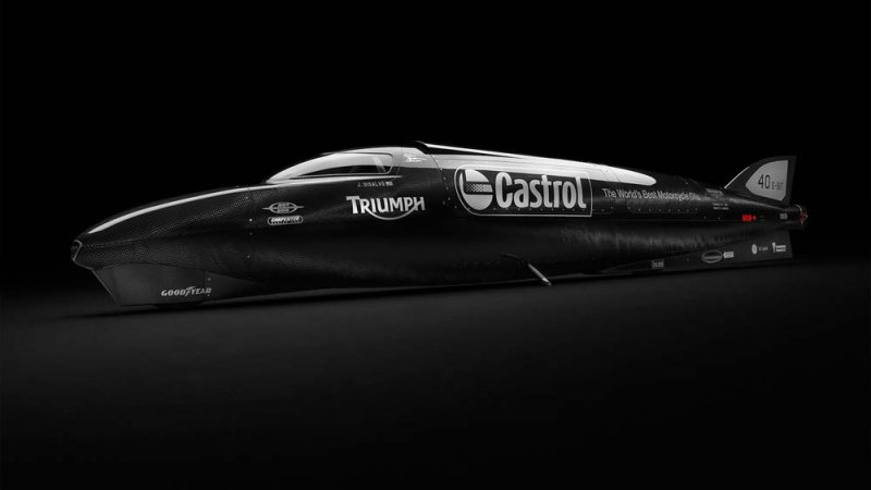 Guy Martin And Triumph Aim For 400 Mph At Bonneville