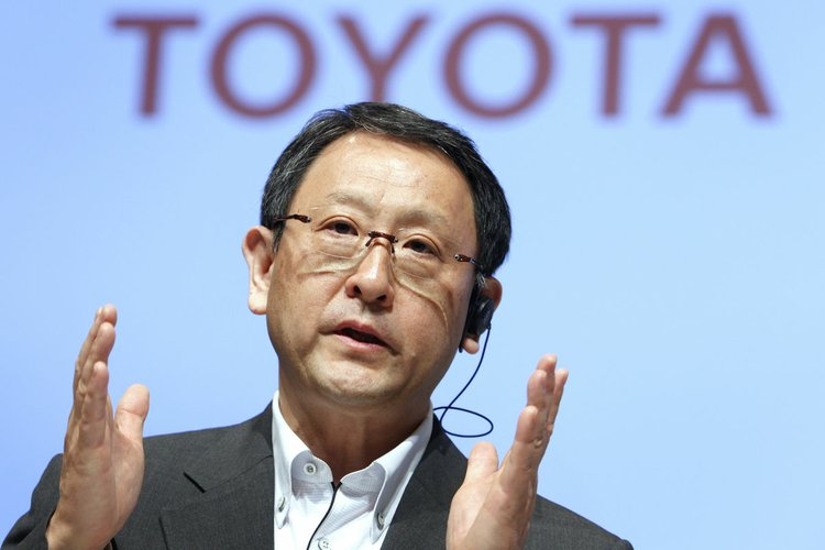 Toyota Announces Executive Changes