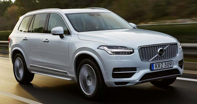 Volvo XC90 T8 Twin Engine Receives Approval For Plug-In Car Grant