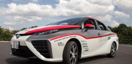 Toyota Mirai makes motorsport