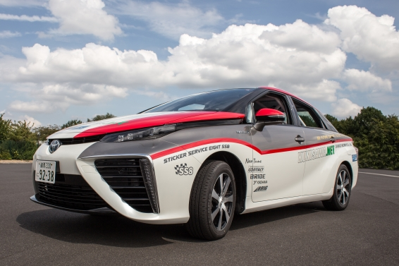 Toyota Mirai Makes Motorsport Debut At WRC Germany