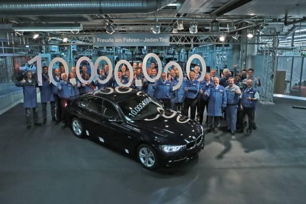 BMW Group Produces 10 Million BMW 3 Series Sedans