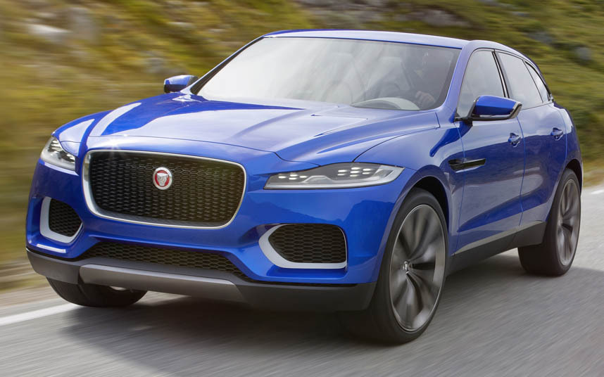 Jaguar Previews All-New F-PACE