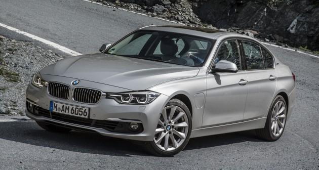eDrive BMW 330e To Make North American Debut At The 2015 LA Auto Show