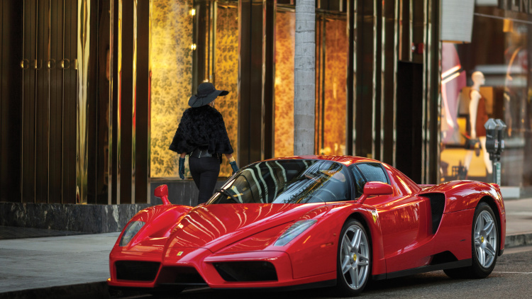 Ferrari Enzo in New York