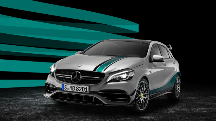 Mercedes-AMG Celebrates F1 Dominance With Special A45