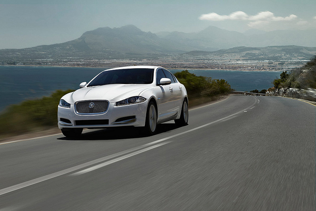 We Take The New Jaguar XF For A Spin