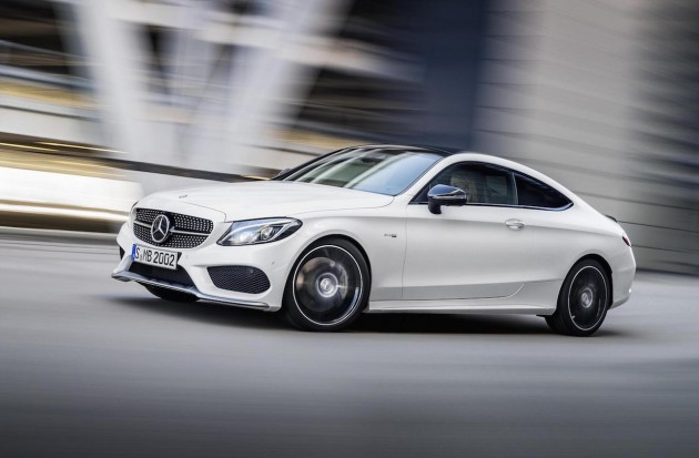 The new Mercedes-AMG C 43 4MATIC