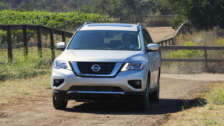 2017 Nissan Pathfinder Quick Spin