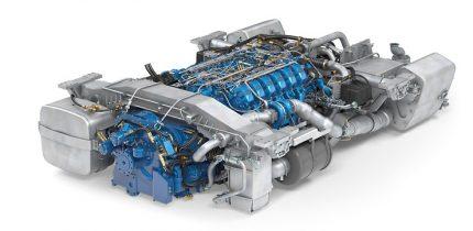 LE633 V12 engine