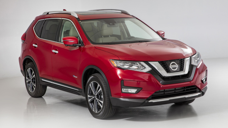 Nissan Hybridizes The Rogue For 2017