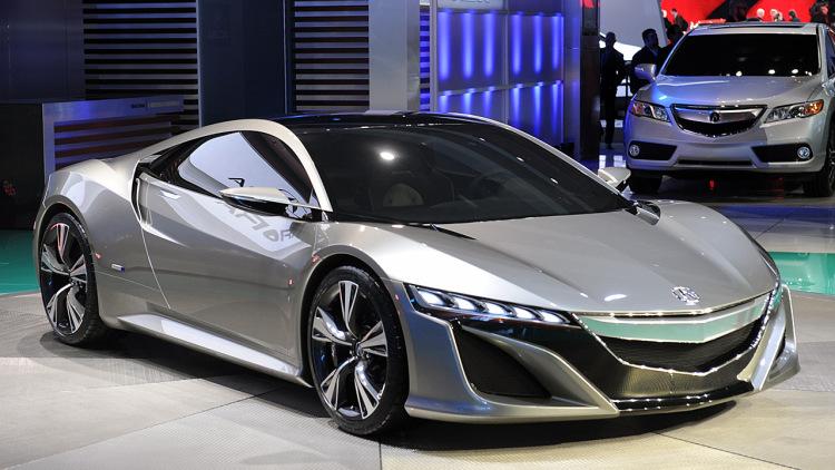 2017 Acura NSX Hybrid