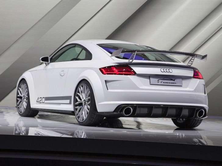 Audi's 420-Horsepower