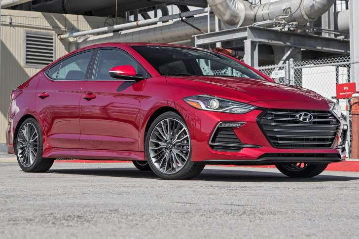 The 2017 Hyundai Elantra Sport