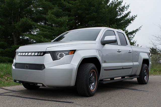 Workhorse W-15 Plug-In Hybrid Truck Unveiled