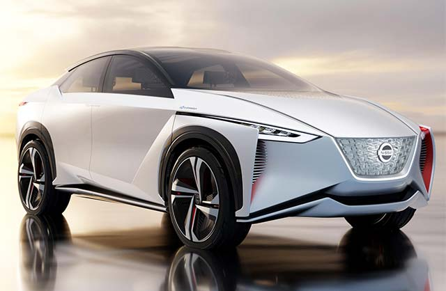Nissan Unveils IMx Electric Crossover Concept At Tokyo Motor Show