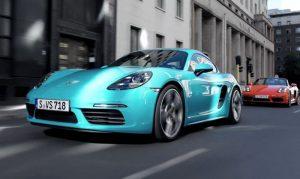 New Porsche 718 Cayman