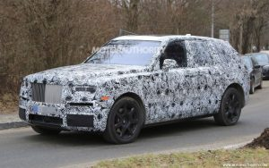 New Rolls-Royce Cullinan Spied