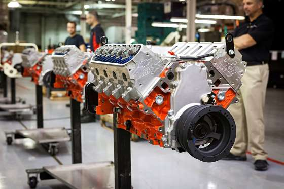 See What Goes Into Chevrolet Performance Crate Engines