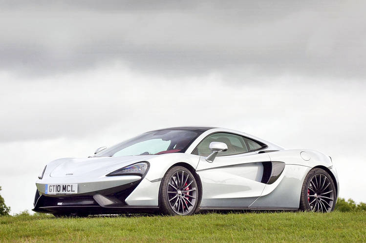 The McLaren 570GT Sport Pack Is Basically A 570S With A Trunk