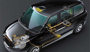 GKN eAxle Electric Taxi