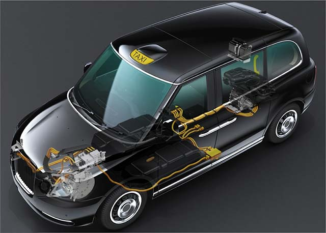 GKN eAxle Powers London's New Electric Taxi