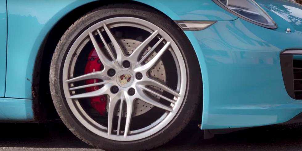 Porsche Brake Squealing