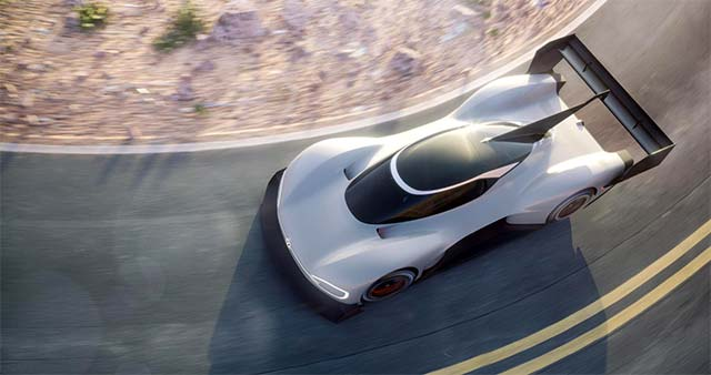 Volkswagen I.D. R Pikes Peak Electric Racer Revealed