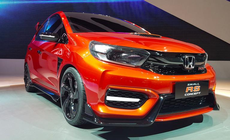 Honda Reveals A Funky Small RS Concept Hatch