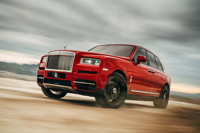 The 2019 Rolls-Royce Cullinan Is Home To Some Fascinating Engineering
