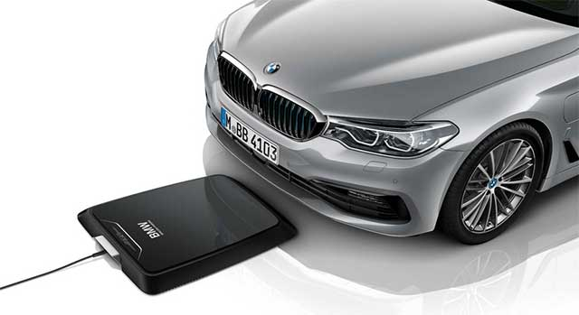 BMW To Offer Wireless Charging Bmw 530e Iperformance